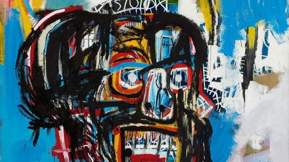 Subastan obra de Basquiat a precio récord de más de 110 mdd