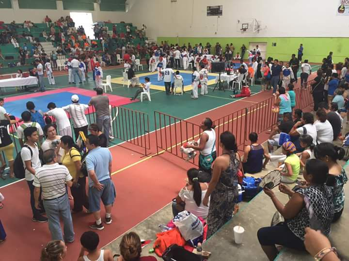 Celebraron Copa de la Amistad de taekwondo en Coatzacoalcos