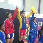 Halterista Diana Cruz consigue medalla de plata en la Universiada Nacional 2017