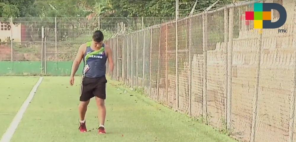 Eliezer Gabriel Buenaventura enfocado en el Mundial Junior IPC