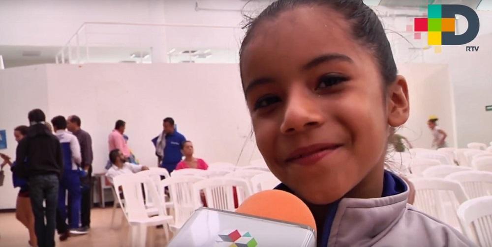 Entrenamos para lograr una medalla en Olimpiada Nacional: Estela Gamboa