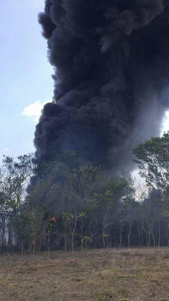 Explosión en planta de coque alarmó a habitantes de Jáltipan