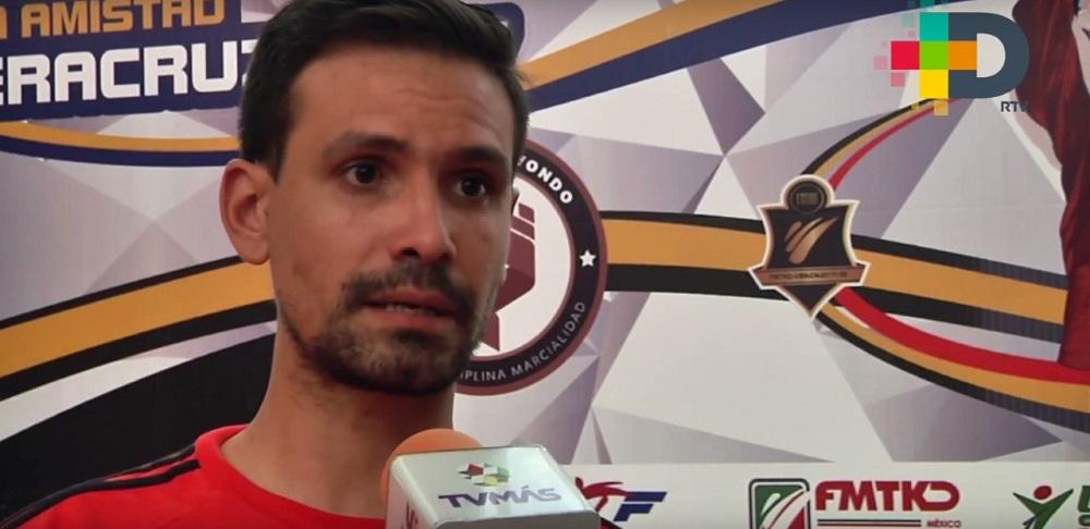 El uso de la tecnología en taekwondo hace más justa la competencia: Gessler Vieira