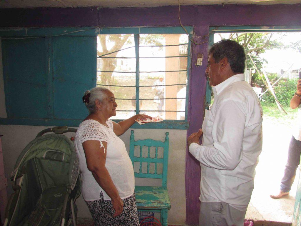 Unidos vamos a elegir el rumbo que queremos en Tlacotalpan: Hilario Villegas
