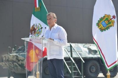 López Obrador quiere facilitarle el camino a la delincuencia, afirma gobernador de Veracruz