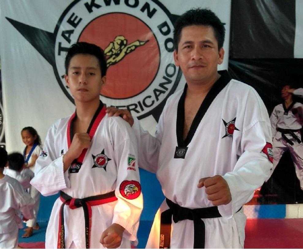El taekwondoista Miguel Reyes, listo para la fase estatal de los juegos deportivos escolares