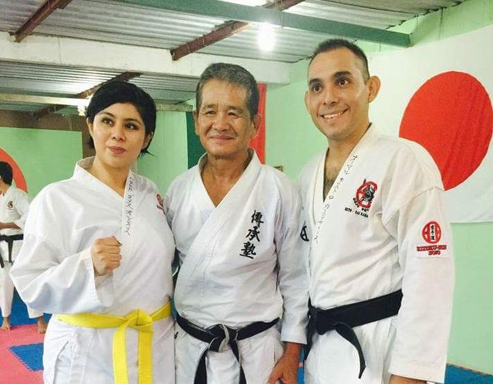 Se realizó seminario de karate en Coatzacoalcos
