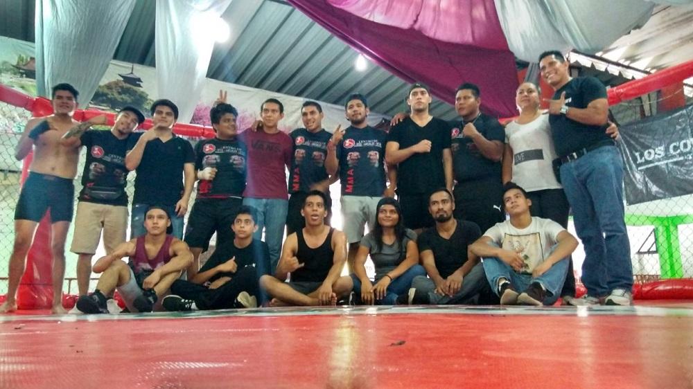 En Minatitlán realizan torneo amateur MMA
