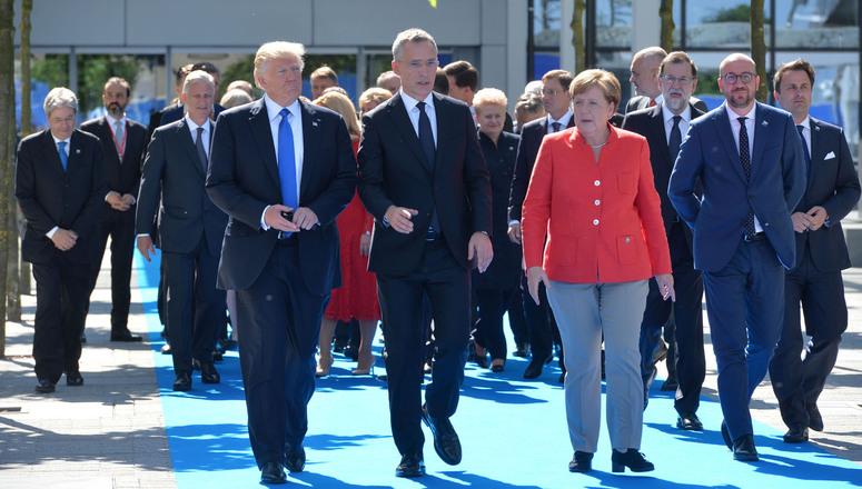 Primera gira internacional de Trump dejó un sabor amargo en Alemania