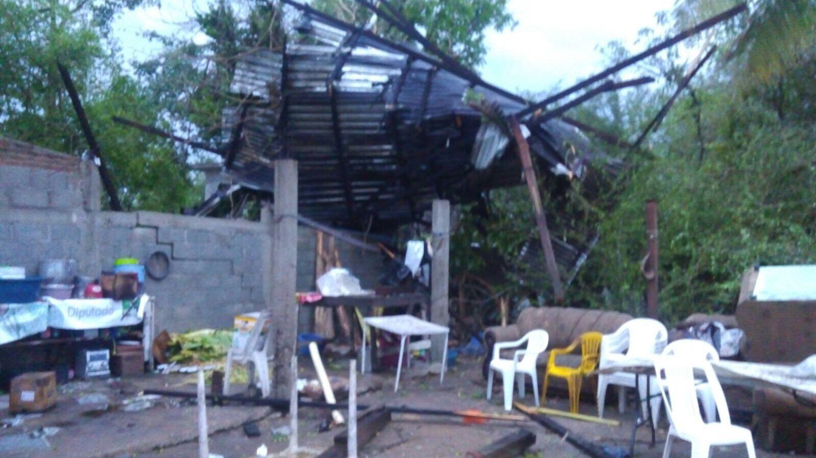 Protección Civil evalúa daños registrados tras tormenta en Pánuco