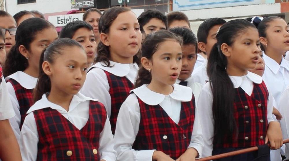 Estudiantes de Pánuco llegan a etapa estatal de la Olimpiada de Conocimiento Infantil 2017