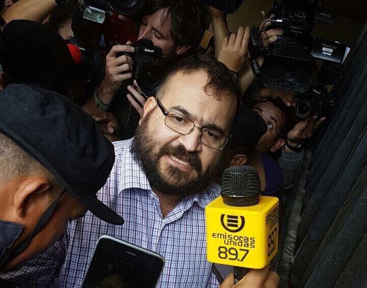Acepta Javier Duarte ser extraditado a México