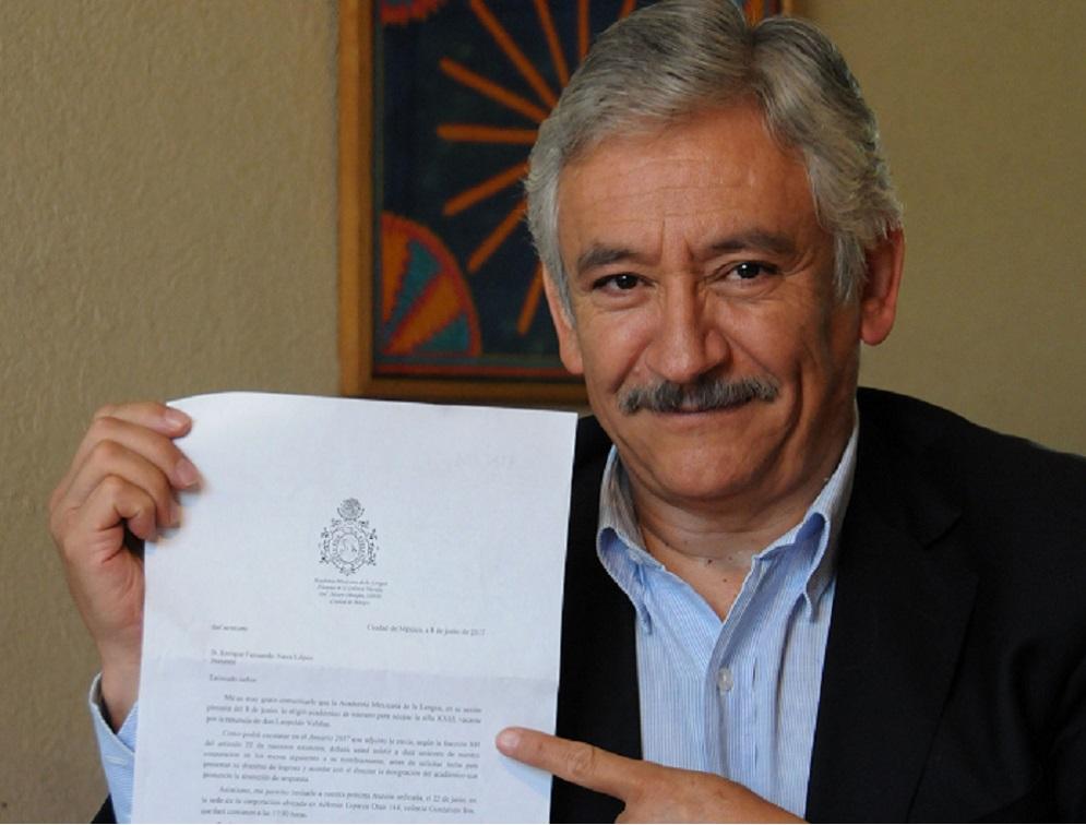 Fernando Nava López, antropólogo de la UNAM, nuevo integrante de la Academia Mexicana de la Lengua