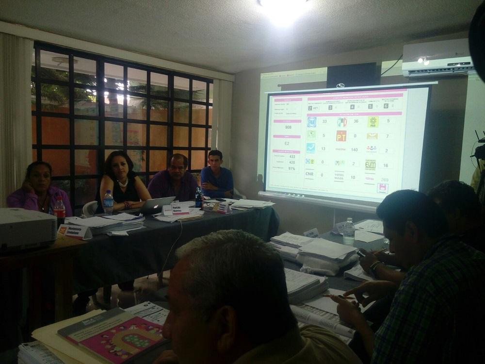 En Coatzacoalcos, Nanchital y Agua Dulce se entregaron actas de mayoría sin problema