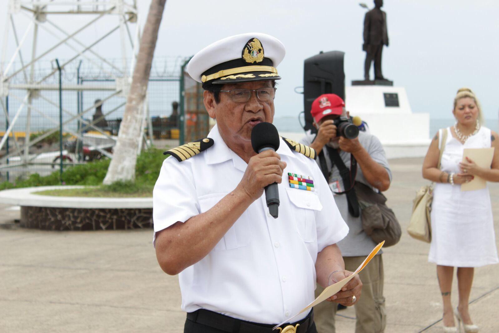 """En Veracruz celebran el """"Día de la gente de mar"""""""