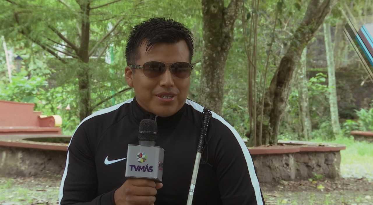 Débil visual completó el Ultra Trail Coahuila 2017