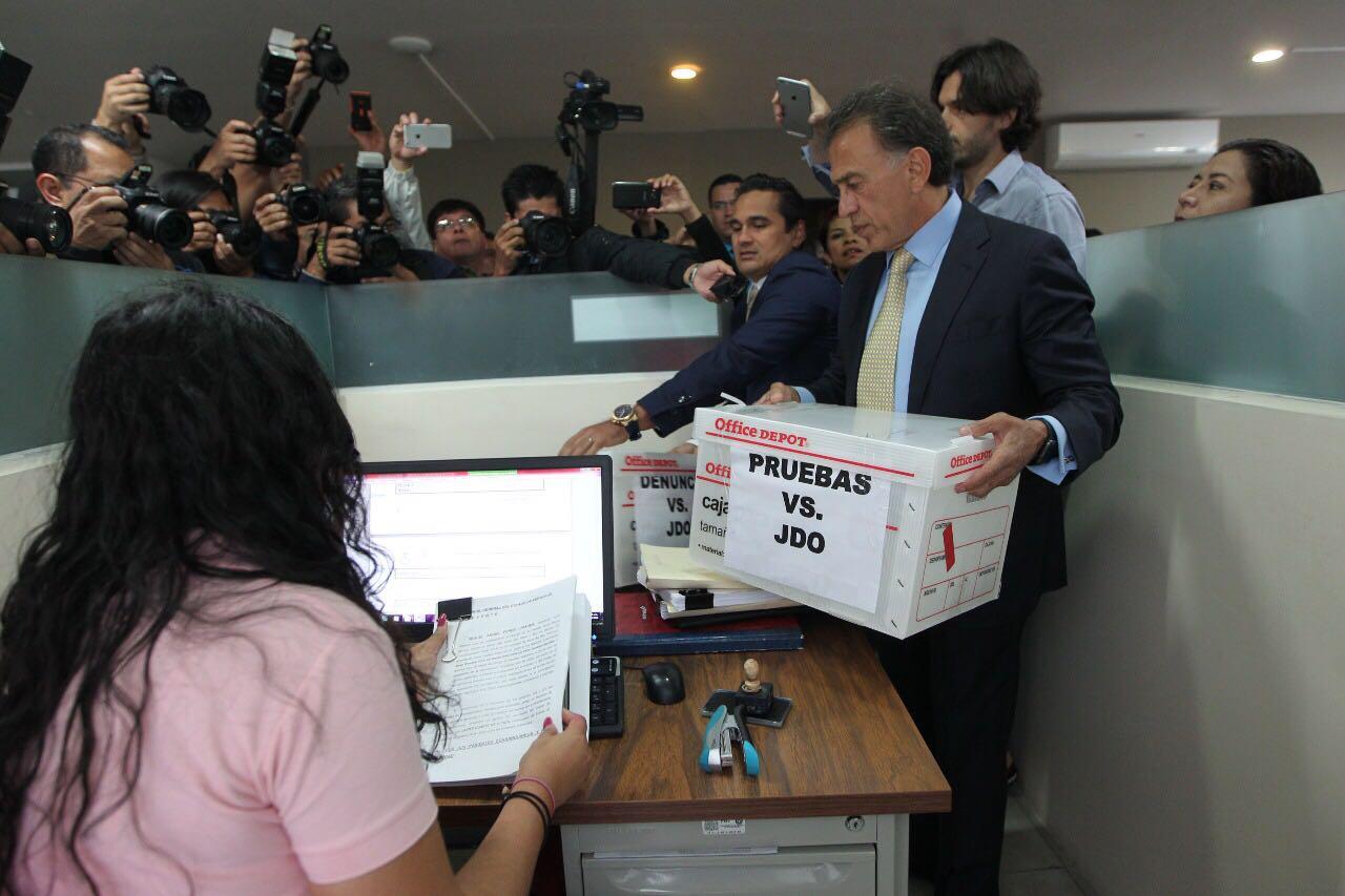 Duarte está en la cárcel porque yo lo investigué y denuncié: Gobernador Yunes