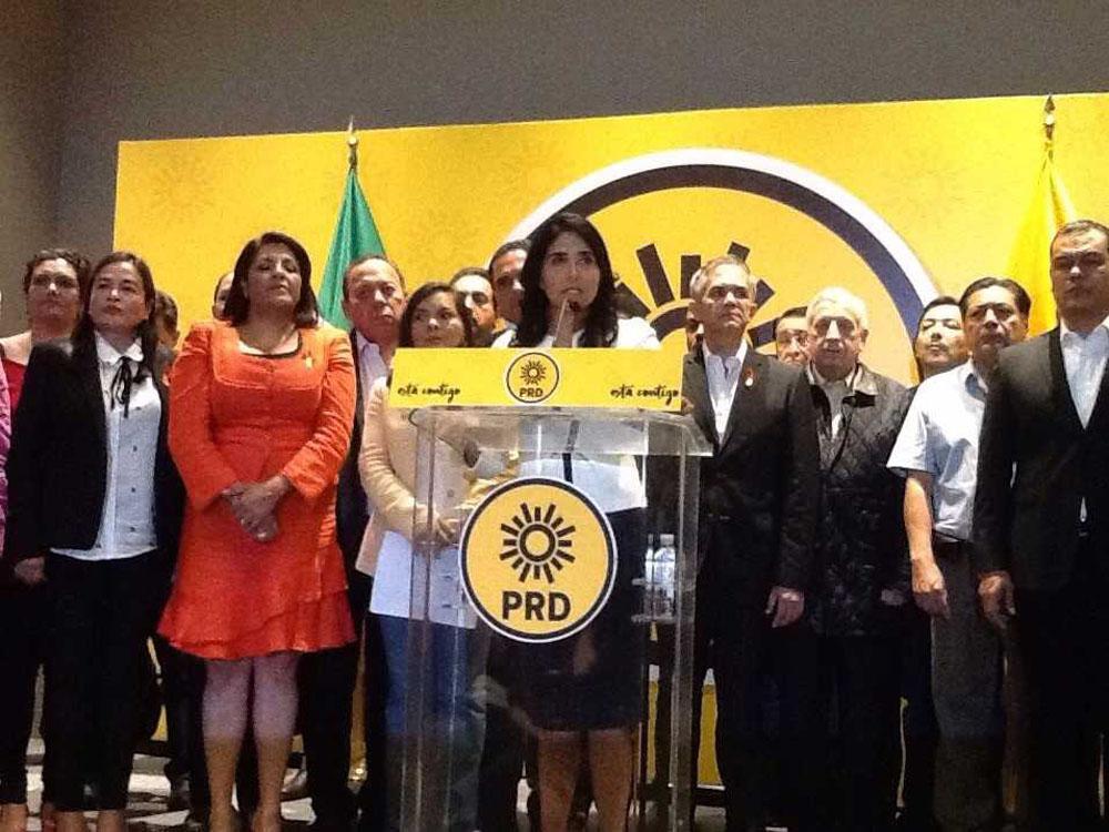 Llama el PRD a construir un Frente Amplio Democrático rumbo a 2018