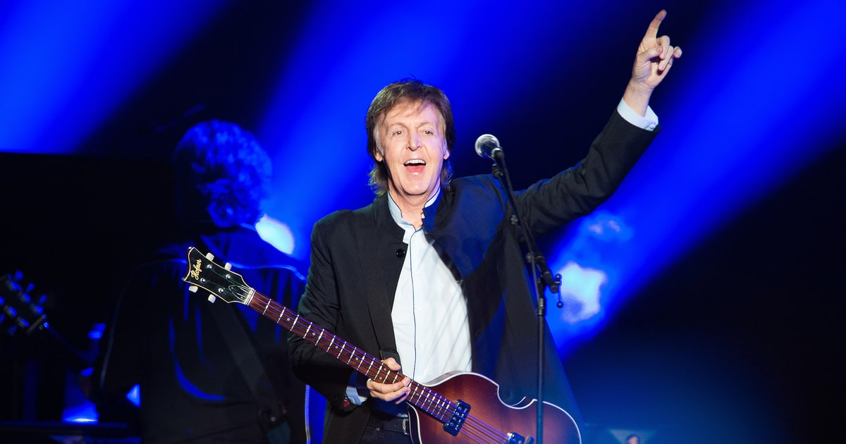 Paul McCartney sorprende con dos temas inéditos