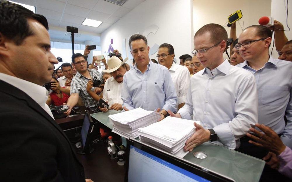 Presentan PAN y Guillermo Anaya impugnación de la elección a gobernador en Coahuila