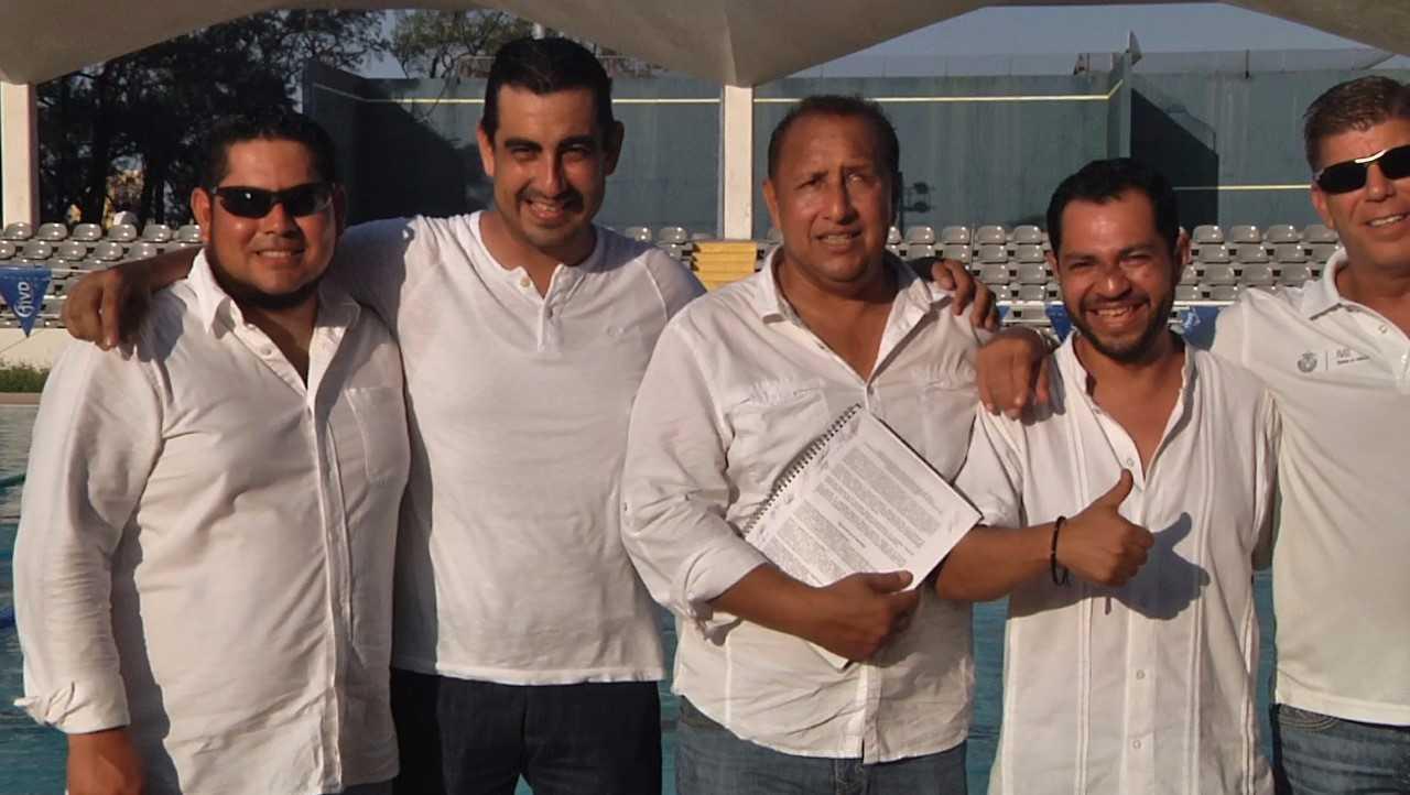 Asume Mario Villarreal la presidencia de la Asociación de Natación de Veracruz