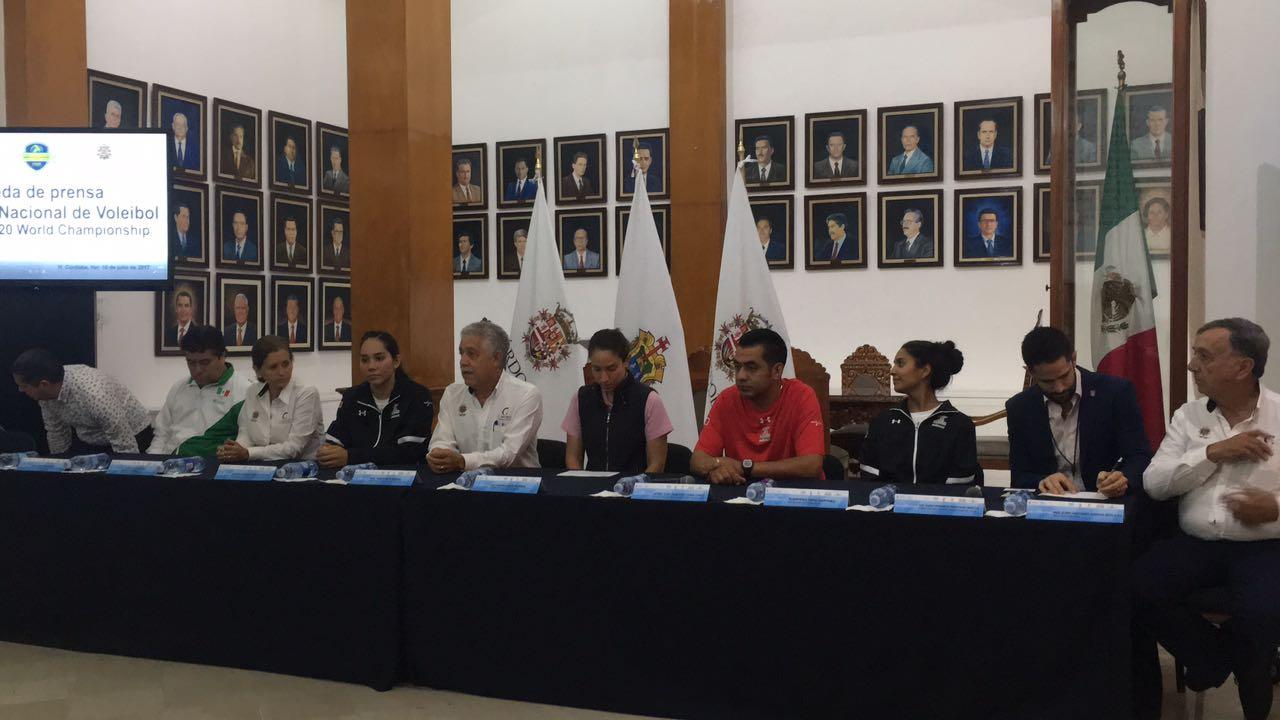 Delegación mexicana de voleibol, lista para el Campeonato Mundial Femenil Sub – 20