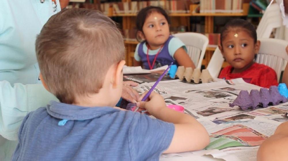 """Logra buena aceptación el curso """"Mis vacaciones en la biblioteca""""; muestra que leer es divertido"""