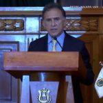 Gobernador Yunes pedirá a la PGR que lo cite a declarar en caso Duarte y exige a jueces apegarse a la ley