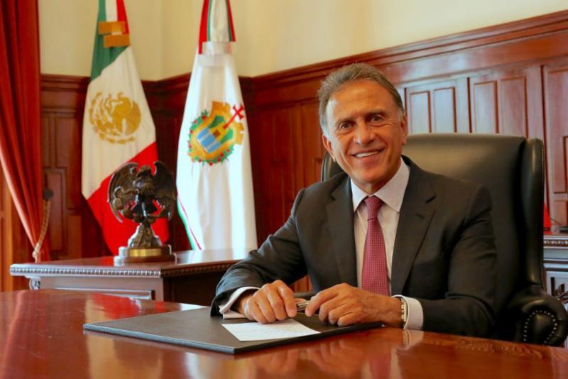Gobernador Yunes reconoce a diputados por aprobar Fideicomiso reestructuración de la deuda de Veracruz