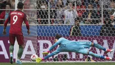 """""""Tri"""" cae en Copa Confederaciones ante Portugal, que es tercero en Rusia 2017"""