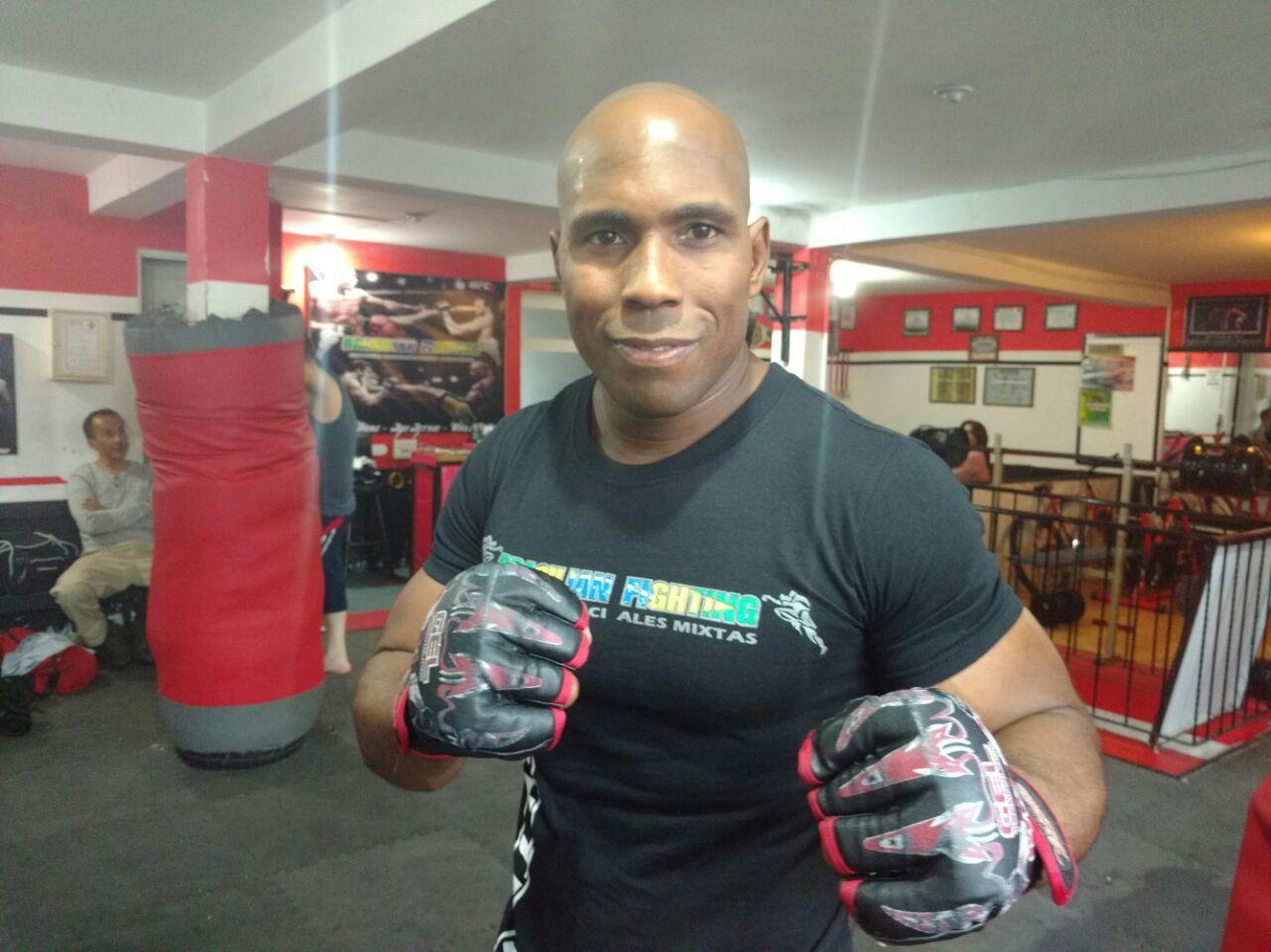 Pitbull da Rocha por el título en artes marciales mixtas