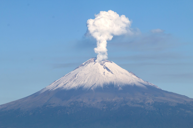 Mantienen en Amarillo Fase 2 alerta volcánica del Popocatépetl