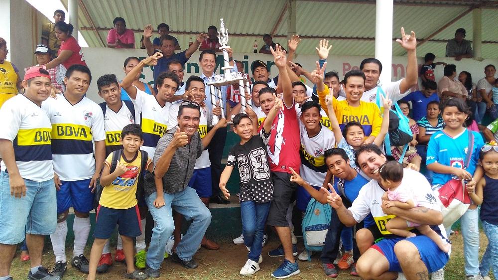 River Plate campeón del futbol en Villa Allende