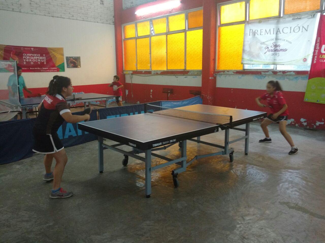 Xalapa sede del campeonato nacional de tenis de mesa en tercera fuerza