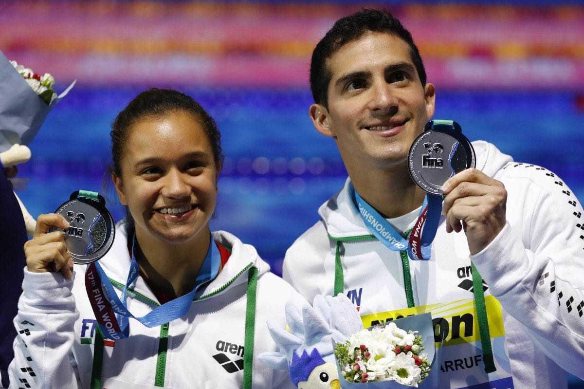 Hace historia la clavadista veracruzana Viviana del Ángel Peniche en Mundial FINA 2017