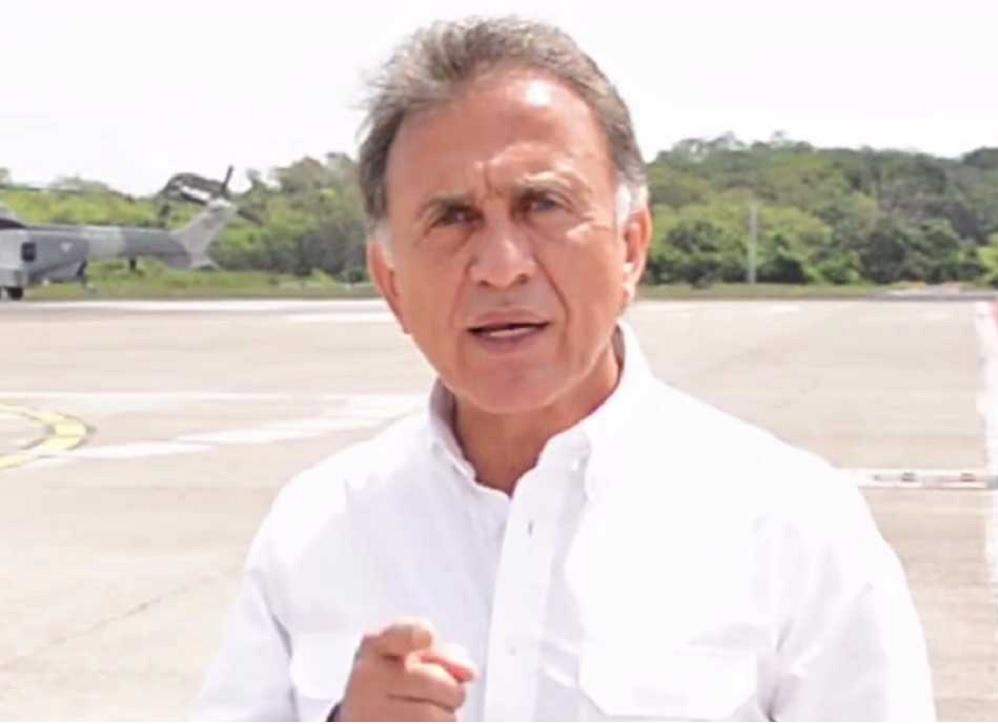 El gobernador Yunes responde a abogado defensor de Javier Duarte