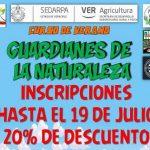 Aún hay espacios disponibles para el curso de verano en el parque Doña Falla