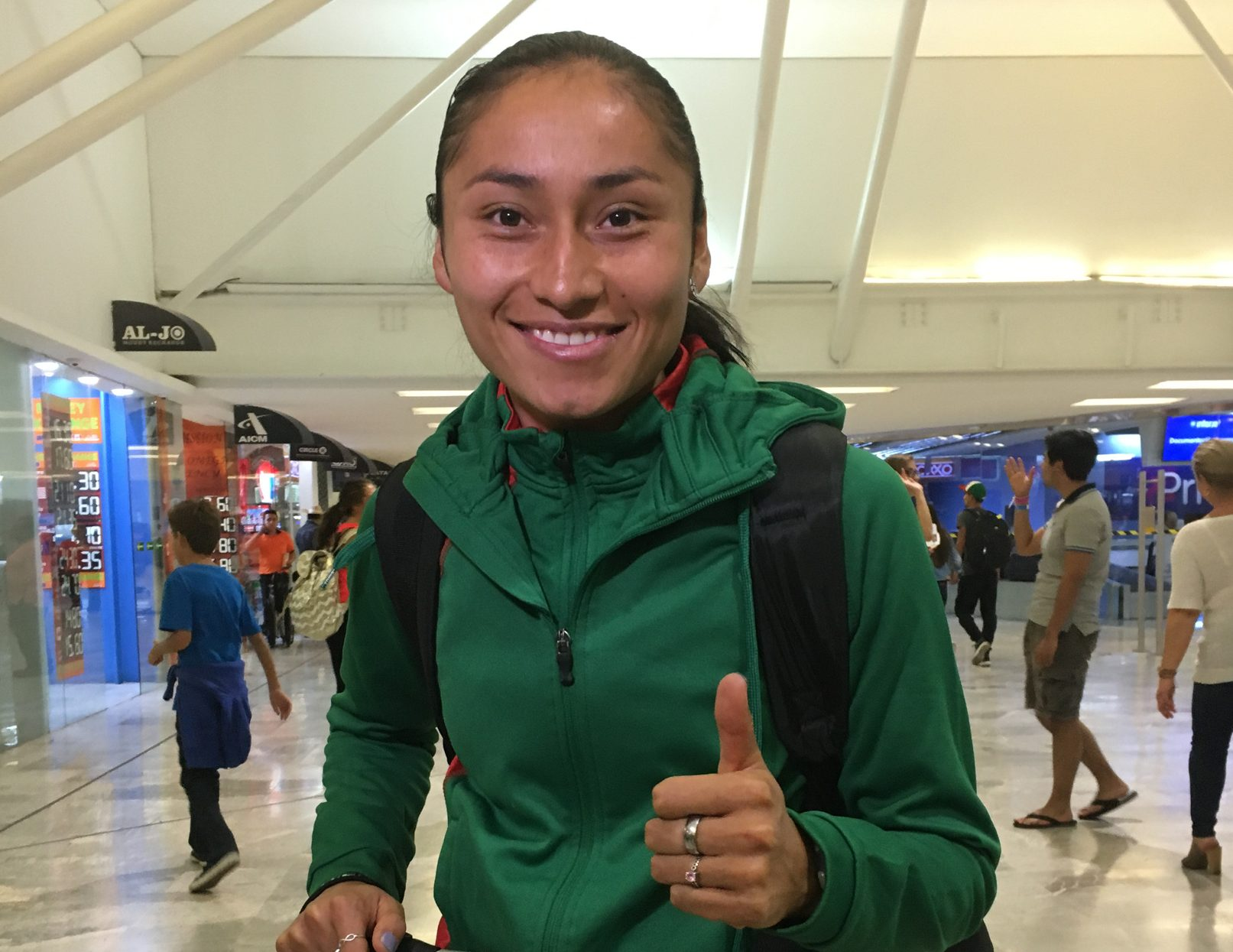 Lupita González da medalla de plata a México en Mundial de Atletismo