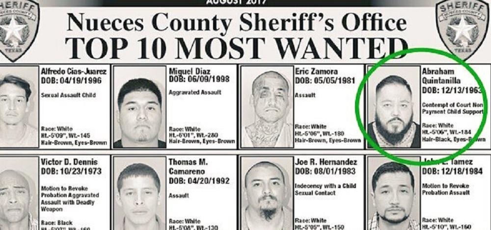 Abraham Quintanilla III aparece entre los fugitivos más buscados en EUA