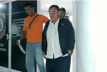 """Detiene Policía Ministerial en Boca del Río a Bartolo """"N"""", por daños a TAMSA"""