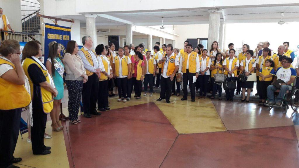 Participa Jurisdicción Sanitaria VIII en jornada médica organizada por el Club de Leones