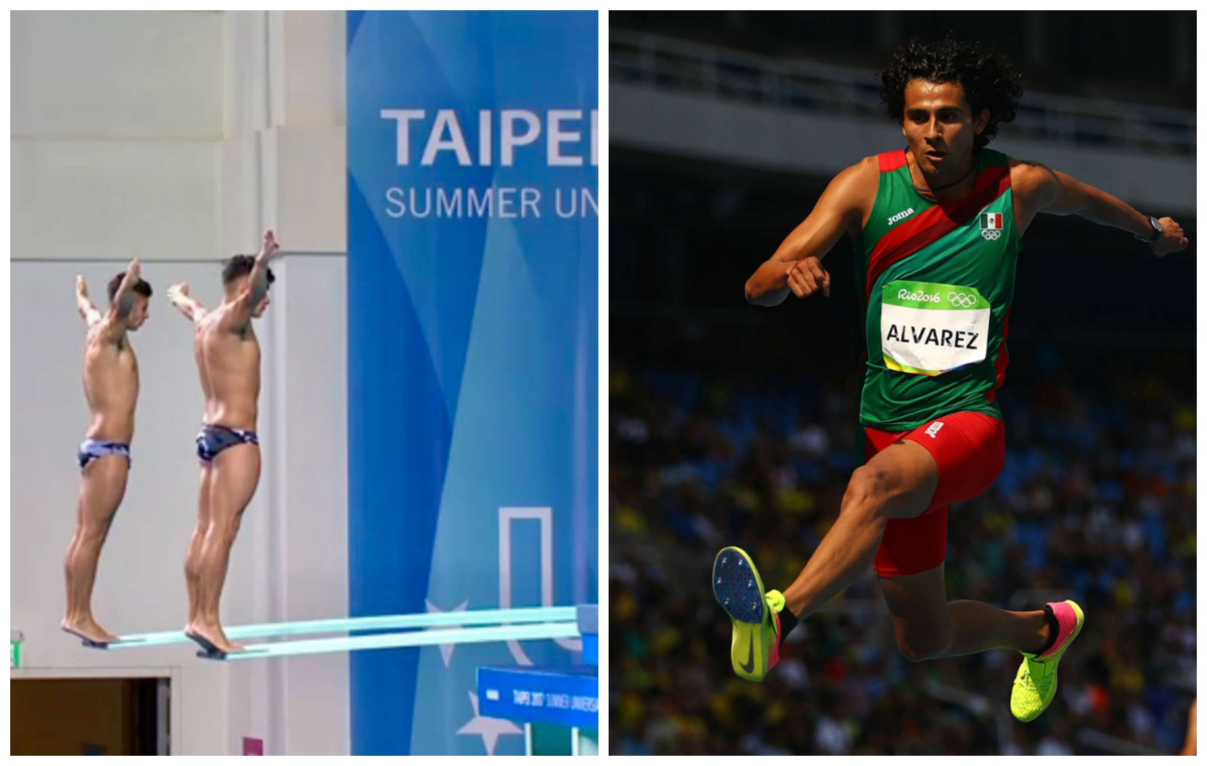 Mexicanos logran buenas marcas en atletismo