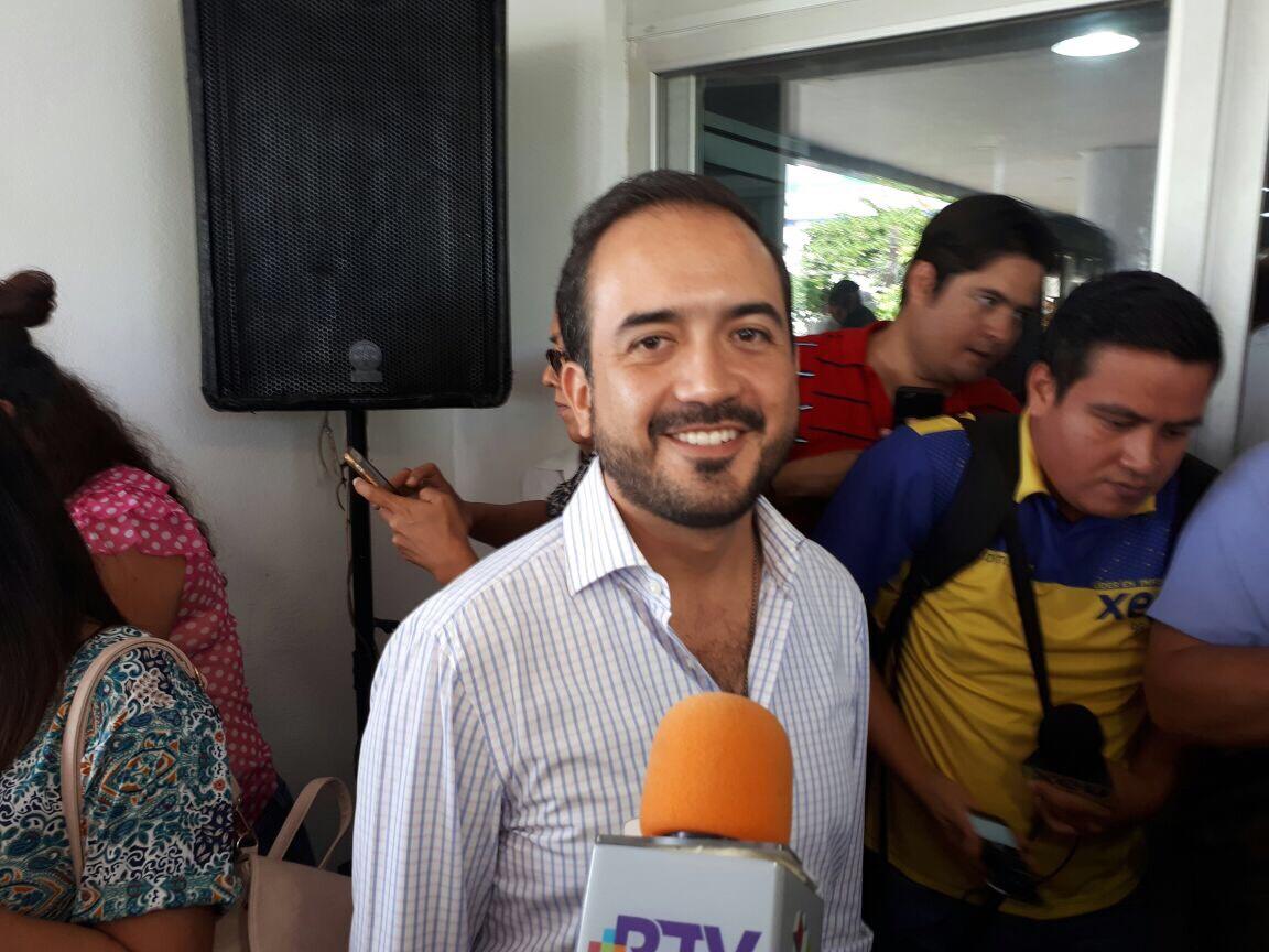 Al tomar posesión, alcalde electo de Veracruz efectuará una reingeniería administrativa