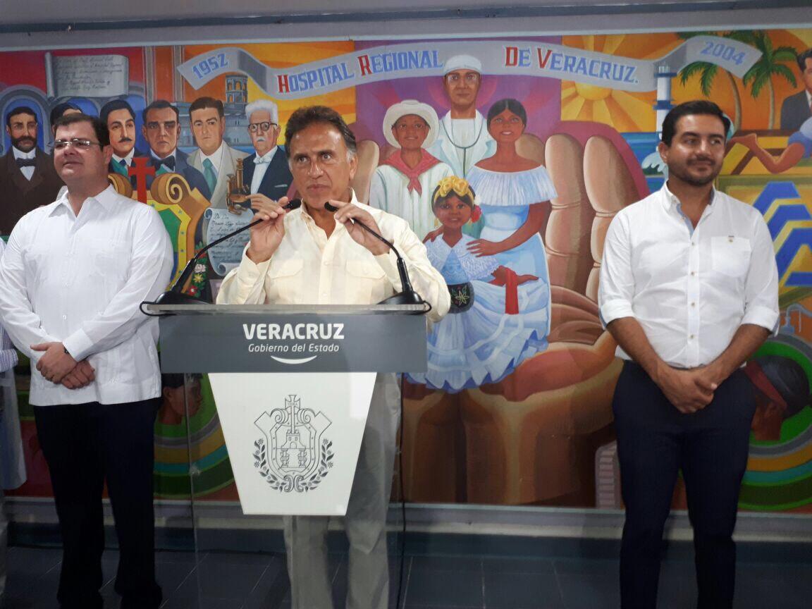 Gobernador Yunes inaugura sala de Hemodinamia del Hospital de Alta Especialidad de Veracruz