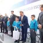 Gobernador Yunes anuncia inversión de 2 mil mdp para escuelas y recursos para el IPE