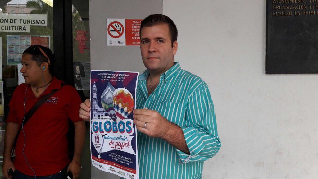 Ayuntamiento de Veracruz realizará muestra de Globos Monumentales de Papel