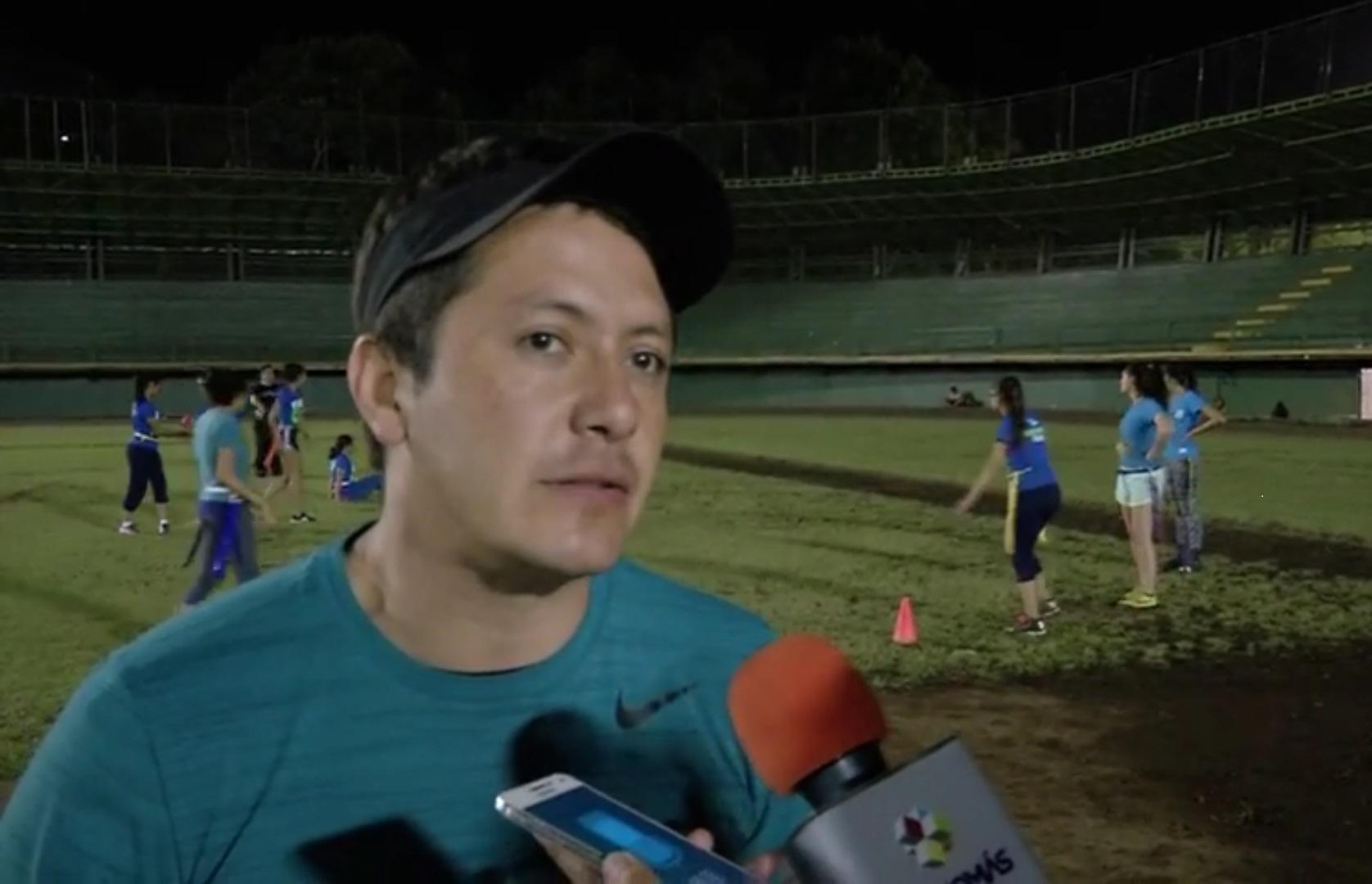 Inicia liga de tocho Banderas Xalapa