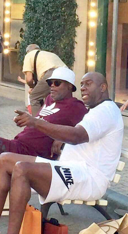 Confunden a Magic Johnson con inmigrante indocumentado en Italia