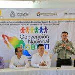 Inaugura PRD Convención Nacional LGBTTTI, en Veracruz