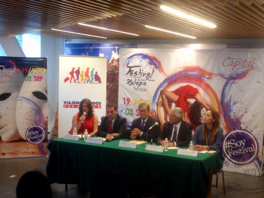 Presentan el Festival de la Flores en la Ciudad de México por el prestigio que ha obtenido a nivel nacional